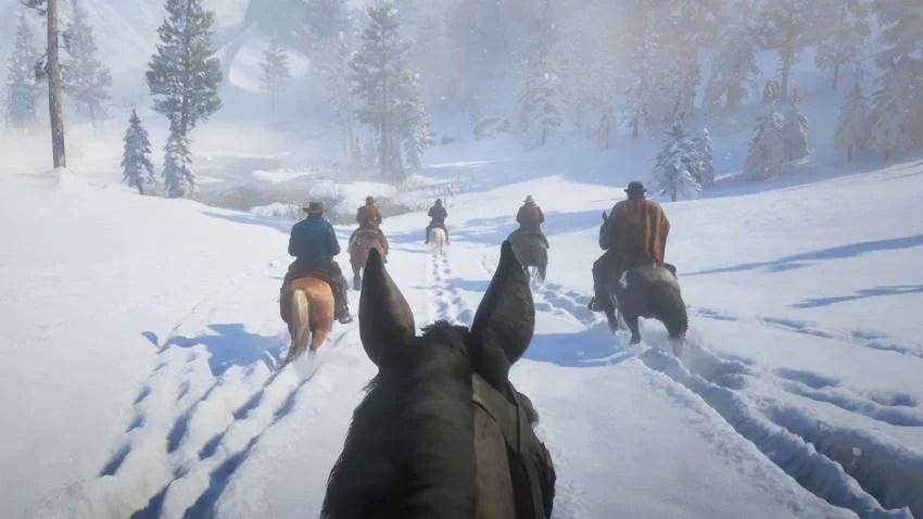 Red Dead Redemption 2 - Première personne - mode FPS