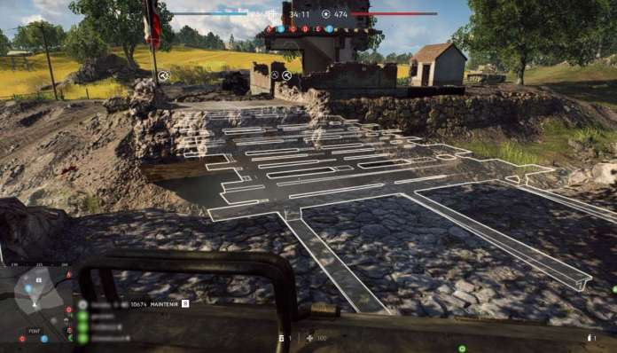 Battlefield 5 Construction et Fortification - pont