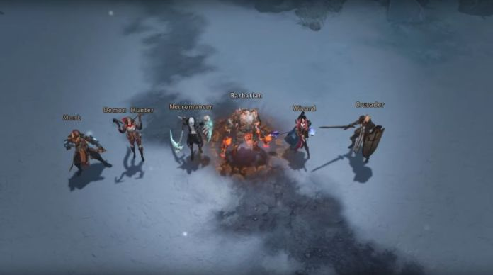 Diablo Immortal - 6 classes à jouer