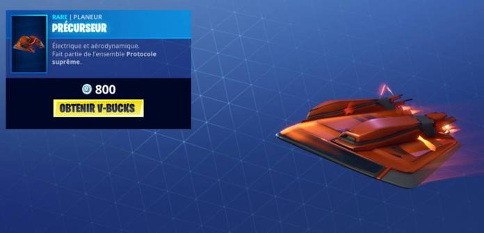 Fortnite Boutique 6 novembre - Planeur Precurseur