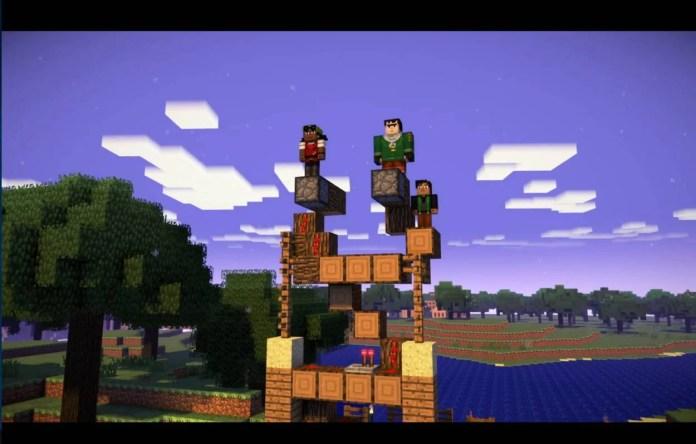 Netflix - Regardez dès maintenant Minecraft, une histoire interactive - Histoire 1