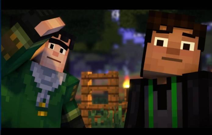 Netflix - Regardez dès maintenant Minecraft, une histoire interactive - Histoire 5