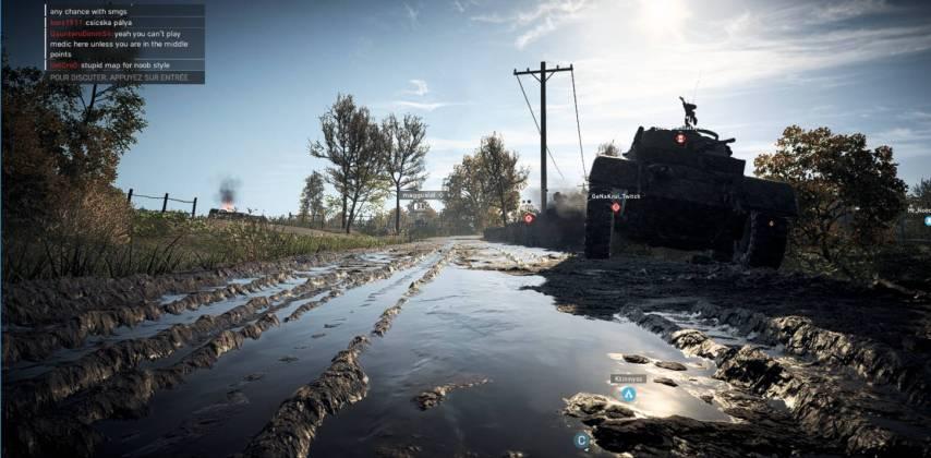 Battlefield 5 - Panzerstorm - tank