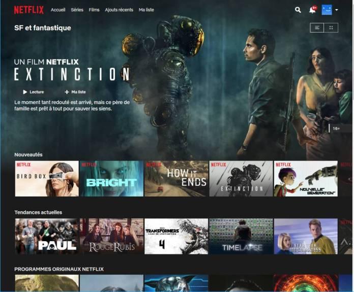 Code Secret Netflix - Accéder aux films et séries cachés - SF et fantastique