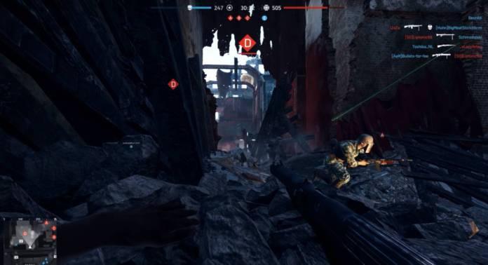 Battlefield 5 - Un youtuber montre les problèmes de visibilité des joueurs