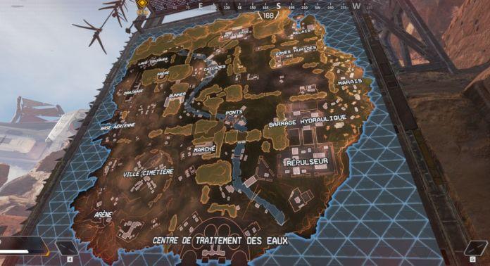 Apex Legends Carte