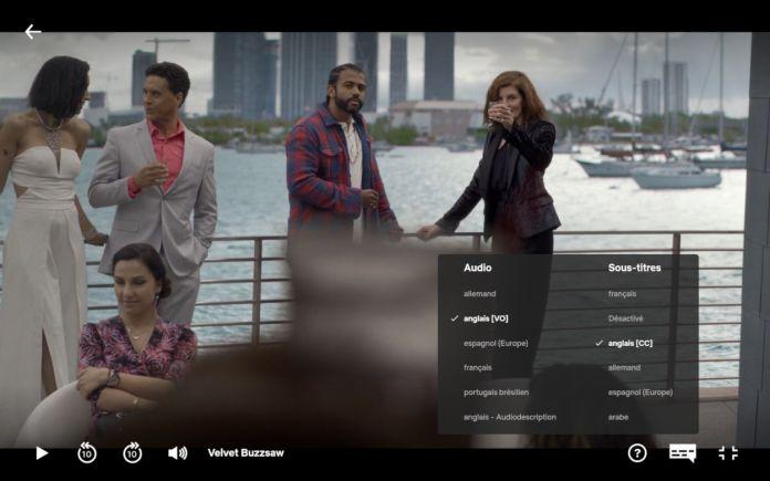 Comment changer la langue de la série ou film Netflix - Audio ou sous titres