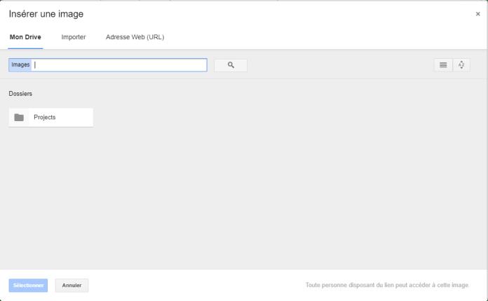 Etape 2 - Insérer une image dans la signature Gmail