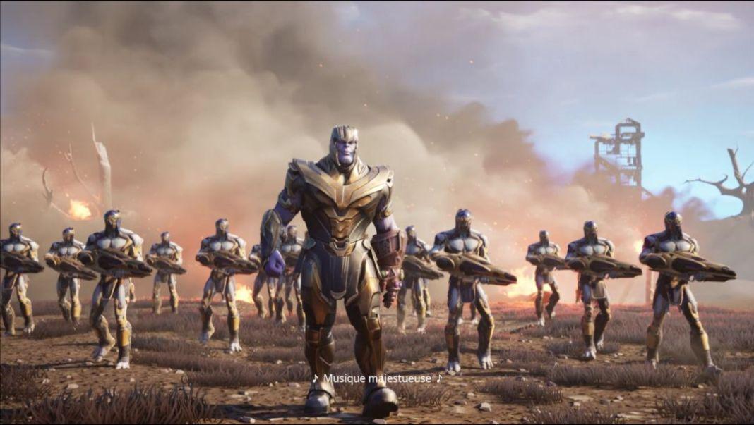 Fortnite Avengers Endgame - Les équipements Avengers pour battre Thanos