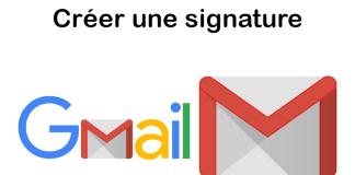 Gmail - Comment créer une signature