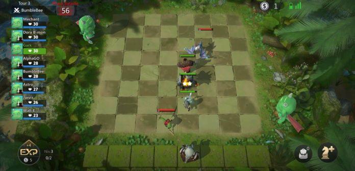 échiquier Auto Chess Mobile