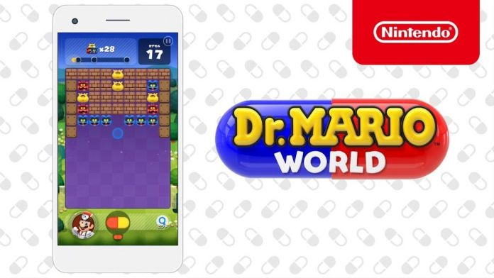Dr. Mario World Mobile arrive sur iOS et Android en juillet