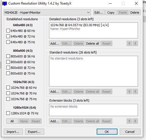 CRU - overclocker la fréquence de rafraichissement d'un écran PC