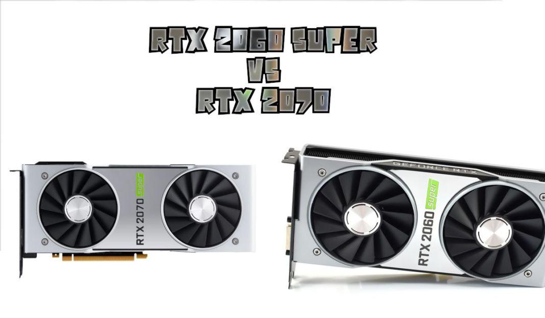 RTX 2060 Super vs RTX 2070 - ecart de performance et prix