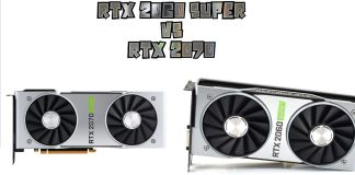 RTX 2060 Super vs RTX 2070 - ecart de performance et prix
