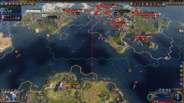 Civilization 6 avec le VRS - exemple