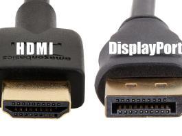 HDMI ou DisplayPort - lequel choisir