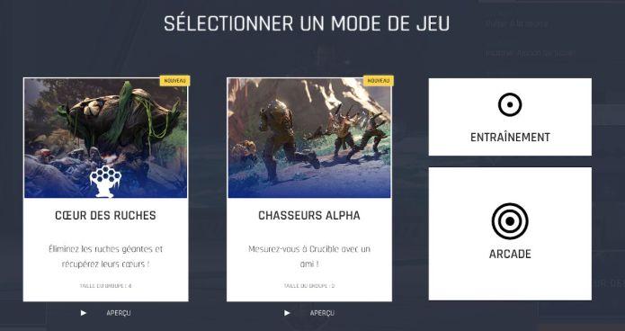 Les modes de jeu de Crucible : objectifs et principes des trois modes