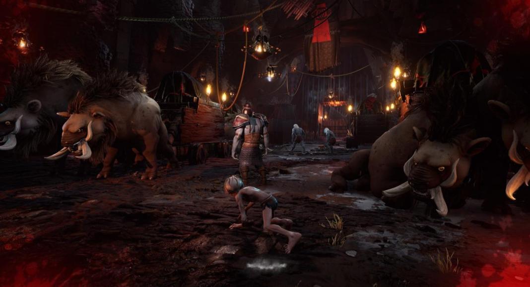 Le seigneur des anneaux Gollum - le jeu vidéo se dévoile