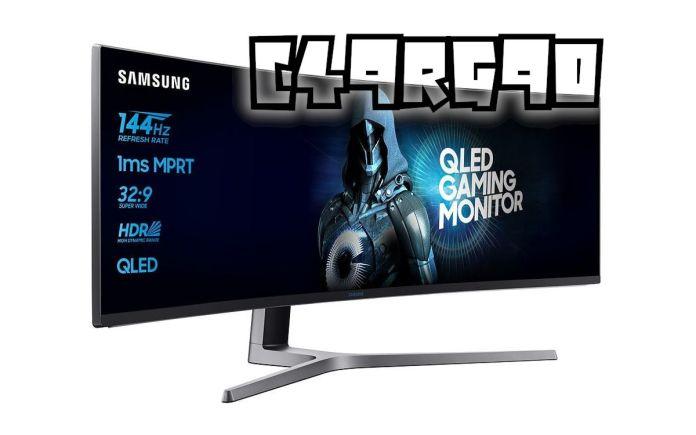 Samsung C49RG90 : test et meilleur prix pour cet écran Ultra-large