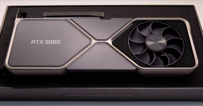 RTX 3080 Founders Edition : à nouveau disponible, retour en stock