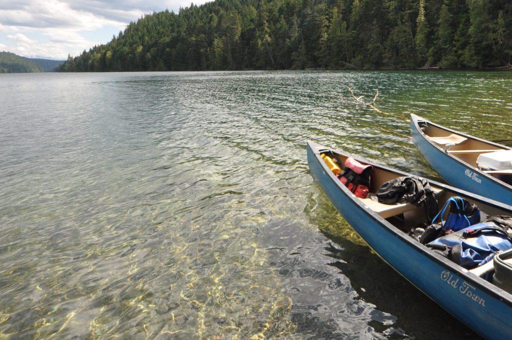 Kanada mit Cosmo im Kanu erleben