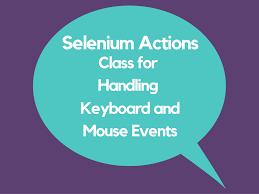 Java-Selenium | Advanced User Interactions | Automating