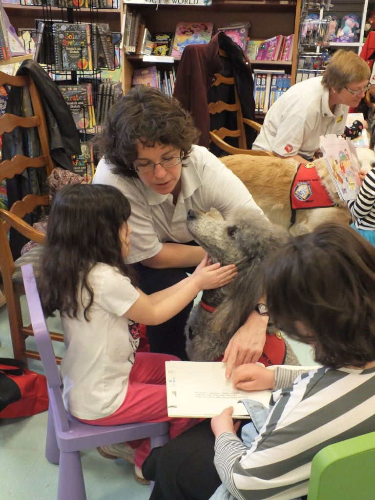 dog assisted reading program - Cosmodoggyland Interview Series