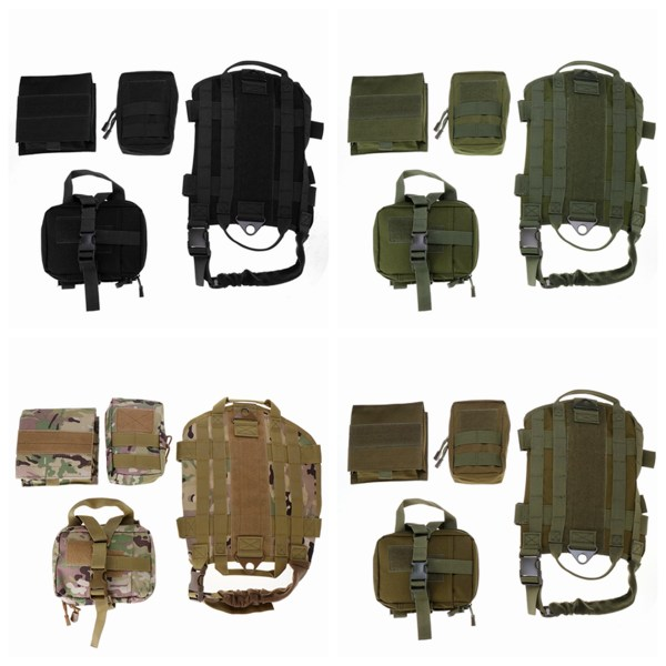 L 1000D Nylon Waterproof Dog Tactical Vest Military Training Clothes