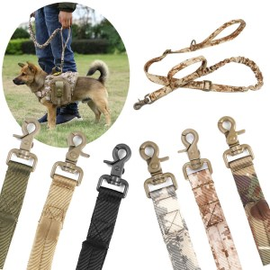 Zanlure DTR4 155cm Dog Traction Rope Multi-Function Adjustable Dog Lead Running Rope Training Pet Nylon Rope Hunting Training Waist Belt
