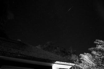 Linien der Nacht.. incl. Sternschnuppe