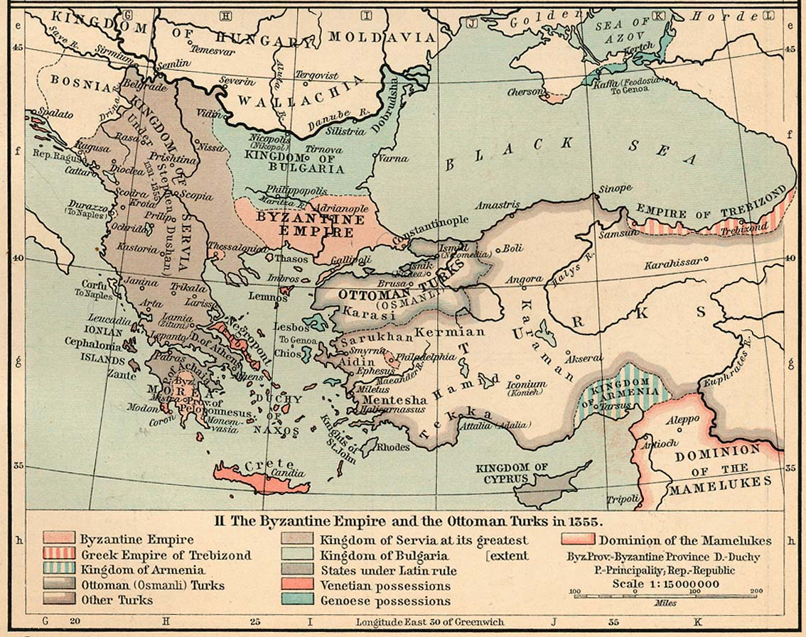 The Byzantine Empire And The Ottoman Turks