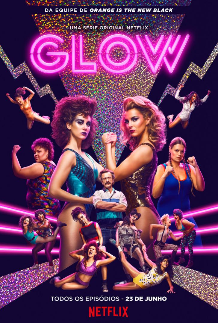 Image result for glow tv series poster