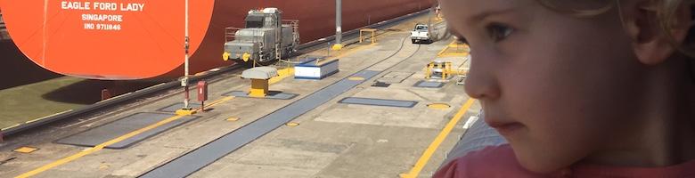 Het Panama kanaal ontdekken
