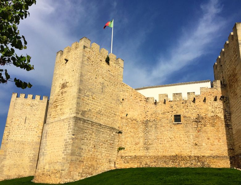 The castle of Loule in authentic Algarve in Portugal