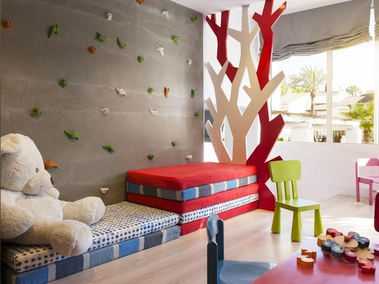 Kids club at Puente Romano Beach Resort & Spa in Marbella, Spain, featured in this article with family-friendly luxury resorts in the Mediterranean