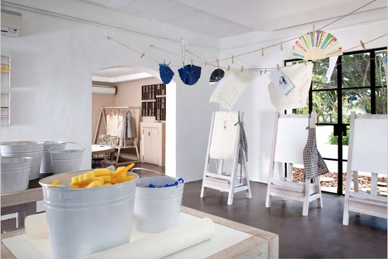 Kids club of the Marbella Club Hotel, one of 10 exquisite family-friendly luxury hotels in Spain