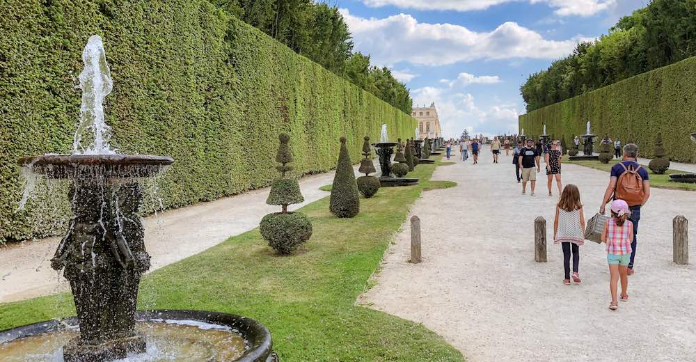 Exploring the Gardens of Versailles during the Musical Fountains Show