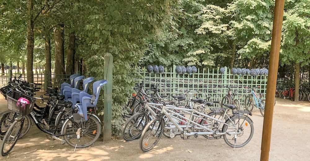 Visiting Versailles by bike