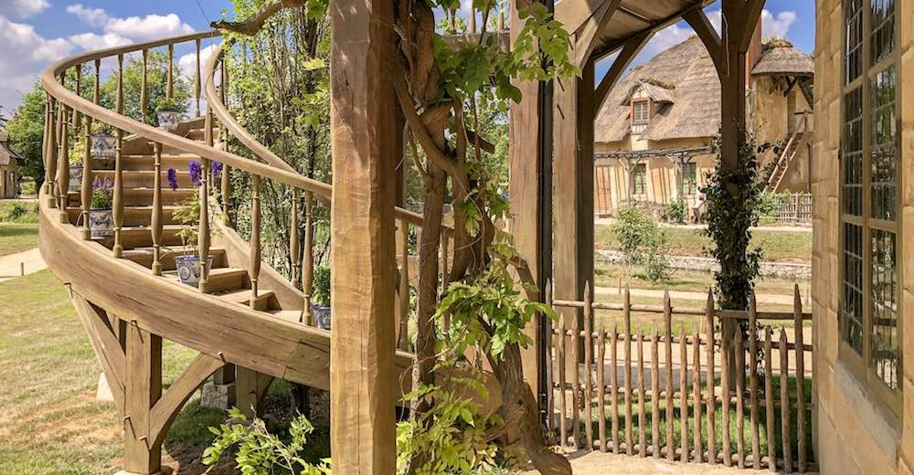 Visiting the Hameau de la Reine or Queen's Hamlet on a Paris to Versailles day trip