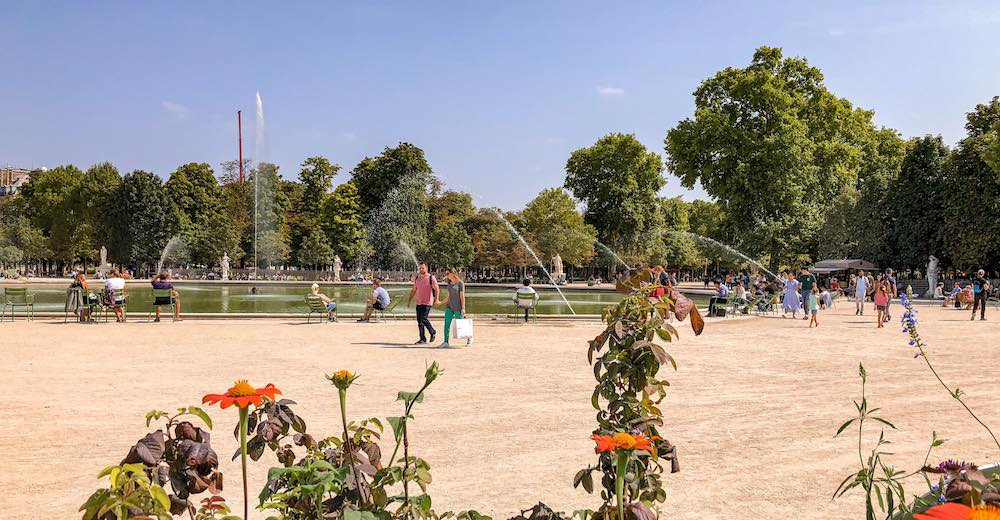 Le Jardin des Tuileries makes for an excellent break during every Paris itinerary