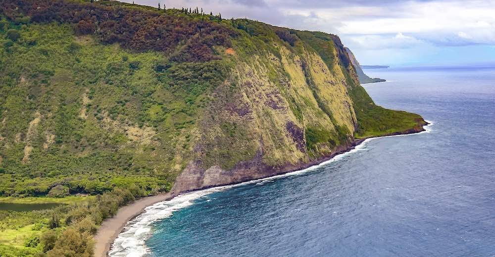 Enjoying the gorgeous views at the Waipio Valley look-out is one of the top things to do in Hilo