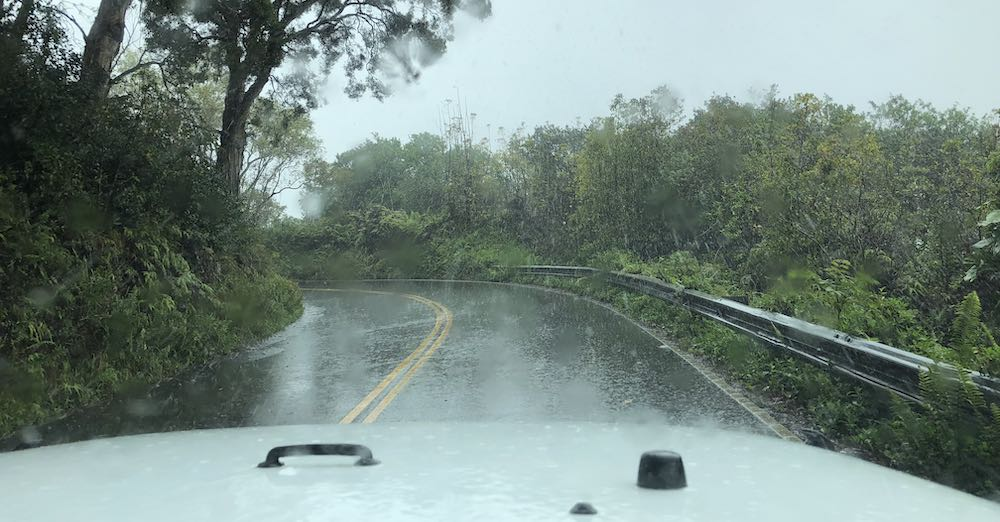 Rainy day on the Road to Hana