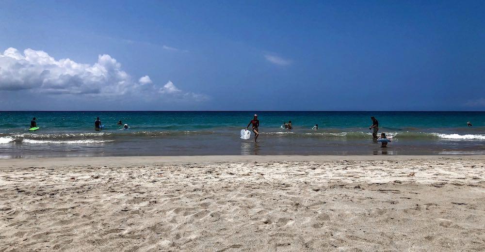 Hapuna beach at Hawaii Big Island, a great place to stay in the Big Island