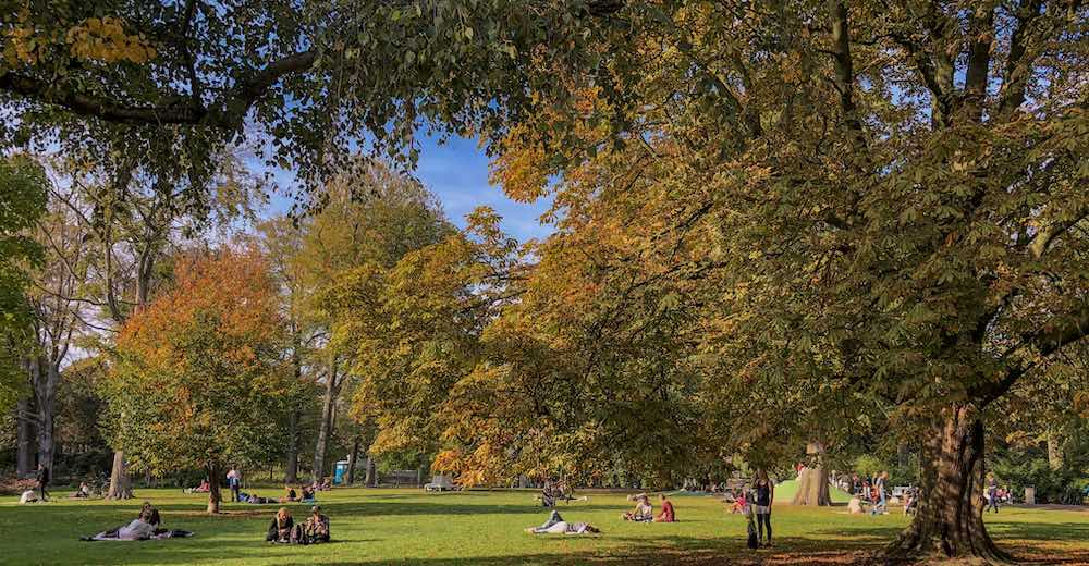 The Palace gardens or Paleistuin is free for visitors and one of the most popular The Hague places to visit