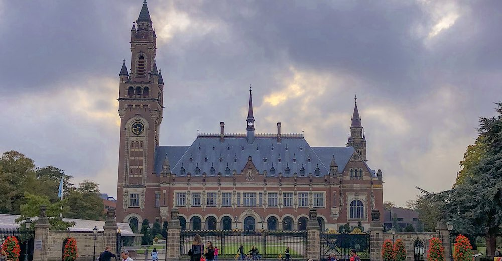 Visiting the Peace Palace counts as one of the best things to do in The Hague Netherlands