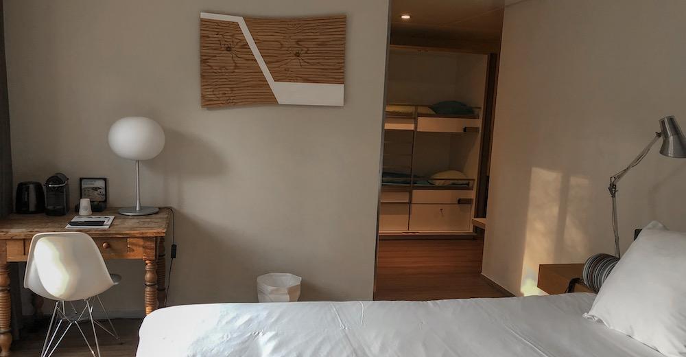 Interior of a Roomy room at Blooming hotel in Bergen near Alkmaar in North Holland