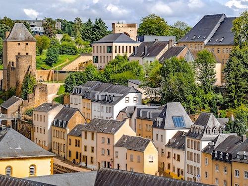 City center of Luxemburg