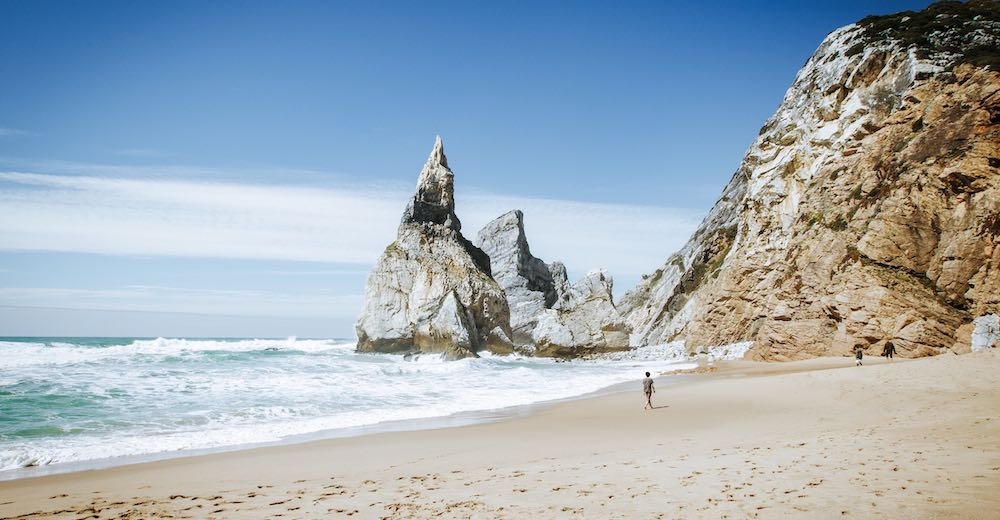 Praia da Ursa is one of the most well-hidden beaches in Portugal