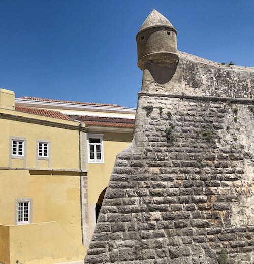 The citadel is one of the most important places to visit in Cascais Portugal